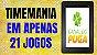 Planilha Timemania - Esquema em Camadas com 21 Jogos - Imagem 2