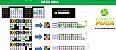 Planilha Mega Sena - Esquema de Redução em Cores - Imagem 1