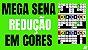 Planilha Mega Sena - Esquema de Redução em Cores - Imagem 2