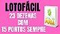 Planilha Lotofacil - Jogue com 23 Grupos de 23 Dezenas - Imagem 2