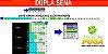 Planilha Dupla Sena - Esquema com 35 Dezenas em 20 Jogos - Imagem 1