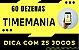 Planilha Timemania - Esquema com 60 Dezenas em 25 Jogos - Imagem 2