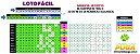 Planilha Lotofacil - Esquema para 14 Pontos em 11 Jogos - Imagem 1