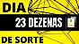 Planilha Dia de Sorte - Esquema com 23 Dezenas Fechando Quadra - Imagem 2