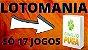 Planilha Lotomania - Esquema com Apenas 17 Jogos - Imagem 2