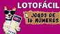 Planilha Lotofacil - Garante 12 Pontos em Todo Sorteio com Jogos de 16 Números - Imagem 2