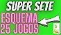 Planilha Super Sete - Esquema com 25 Jogos pra Ganhar - Imagem 2