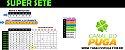 Planilha Super Sete - Esquema com Apenas 10 Jogos - Imagem 1