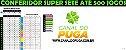 Planilha Super Sete - Conferidor de até 500 Jogos - Imagem 1