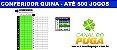 PLANILHA QUINA - CONFERIDOR DE ATÉ 500 JOGOS - Imagem 1