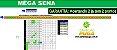 Planilha Mega Sena - 60 Dezenas Combinadas em Jogos de 8 Números - Imagem 1