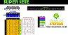 Planilha Super Sete - Jogue com 14 Numeros e Garantia de Quina - Imagem 1