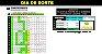Planilha Dia de Sorte - Esquema com 14 Dezenas Fechando 100% Sena - Imagem 1