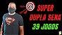 Planilha Dupla Sena - Esquema com 39 Jogos de 7 Numeros - Imagem 2