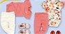 ◼ Kit Marisol Play Bebê - Composto por: 30 peças, Grade: RN ao GG, Sendo: Conjuntos, Macaquinhos, Vestidos, Bodys, Calças e Shorts. IMAGENS ILUSTRATIVAS - Imagem 8