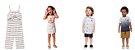 ◼ Kit Brandili Mundi Luxo 2020/2021. Composto por: 30 peças, Grade: 1 ao 14, Sendo: Conjuntos e Vestidos. IMAGENS ILUSTRATIVAS - Imagem 9