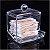 Porta Cotonetes de Acrílico Organizador 137 - Imagem 8