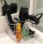 Porta secador, chapinha, acessórios de cabelo, pinceis de acrilico Organizador 199 - Imagem 2