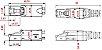 Conector Macho RJ45 CAT.6 (blindado) Industrial de Montagem Em Campo Furukawa - Imagem 2