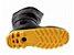 Bota PVC Cano Longo Preta com Solado Amarelo - Imagem 2