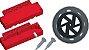 Caixa vermelha para um motor amarelo + roda furo oval - Imagem 3