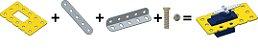 Kit Suporte para servo motor - Imagem 1