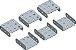 Conjunto Plataforma U 5C-X3 (1x3x1)  - Imagem 1