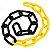 Corrente grande Amr/Pret 57x30x10mm PLASTCOR - Imagem 2