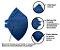 Respirador Descartável CAMPER - CA's 38942/38944 - Imagem 3
