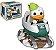 Funko POP Disney - Donald with Matterhorn - Imagem 1