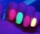 Pó Glow * Pó Neon *Diversas Cores * Brilham No Escuro Sem Luz Negra* - Imagem 8