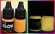 Tinta Glow Bisnaga C/ Aplicador. Brilha Sem Luz Negra - Imagem 2