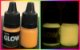 Kit 2 Potes Glow 25ml: 1 Azul Neon+1 Laranja P/ Alça E Massa - Imagem 3