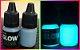 Kit 2 Potes Glow 25ml: 1 Azul Neon+1 Laranja P/ Alça E Massa - Imagem 2