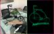 Tinta Spray Glow Fosforescente UV Cor Amarelo Esverdeado - Imagem 2
