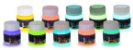 Kit 10 Potes 50ml Tinta Glow - Desconto e Frete Gratis - Imagem 1