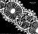 RENDA CHANTILLY 2 CORES / MÍN. 15YD (13,70M) / LARG: 168MM / COMP. 100% POLIÉSTER - Imagem 3