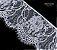 RENDA CHANTILLY / MÍN. 15YD (13,70M) / LARG: 240MM / COMP. 100% NYLON - Imagem 3