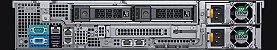 SERVIDOR RACK POWEREDGE R540H INTEL SILVER 4110 2.1GHZ, 8C (1X PROC.) 32GB RAM, 2X 600GB HD SAS, DVD-RW, 2X FONTE 750W, SEM SISTEMA OPERACIONAL - DELL - Imagem 3