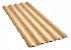 Telha colonial de PVC 3,28m Marfim (COD 304)a - Imagem 1
