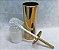 Suporte De Inox e Escova Sanitária com Cerdas Flexíveis – Dourado By Fineza - Imagem 3