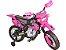Moto Eletrica Motocross Rosa Home Play - Imagem 2
