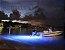 Peças e acessórios Lancha Focker - Par de Luz subaquática totalmente selada 04 LEDs 12V Lente ampliadora (Branco, azul ou verde) - Imagem 2