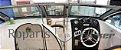 Peças e acessórios Lancha Focker - Para-brisa Vidro Frontal Copiloto Focker 240 - Imagem 2