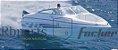Peças e acessórios Lancha Focker - Para-brisa Vidro Frontal Piloto Focker 222 - Imagem 4