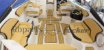 Peças e Acessórios Lancha Focker - Estofado Focker 240 (Courvin) Capa Dos Bancos Completo - Imagem 4