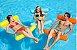KIT - Poltrona casal com bar + 03 boias Rede Cadeira Flutuante para mar e piscina - Imagem 6