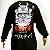 Camiseta Primitive Manga Longa Samurai Preta XL - Imagem 2