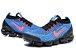 Tênis Nike Air VaporMax 3 - Azul e Vermelho - Imagem 3