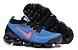 Tênis Nike Air VaporMax 3 - Azul e Vermelho - Imagem 4